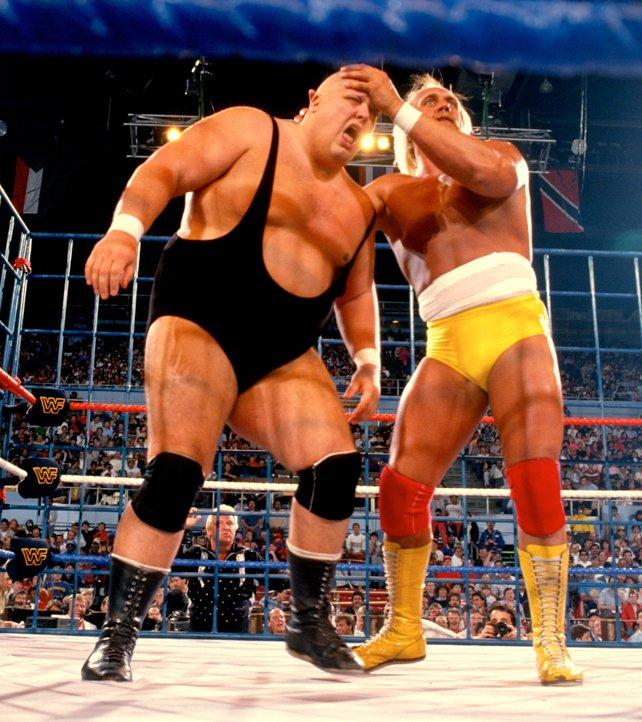 Hulk Hogan and King Kong Bundy go to war in the main event of WrestleMania 2. The only steel cage match in WrestleMania history.
