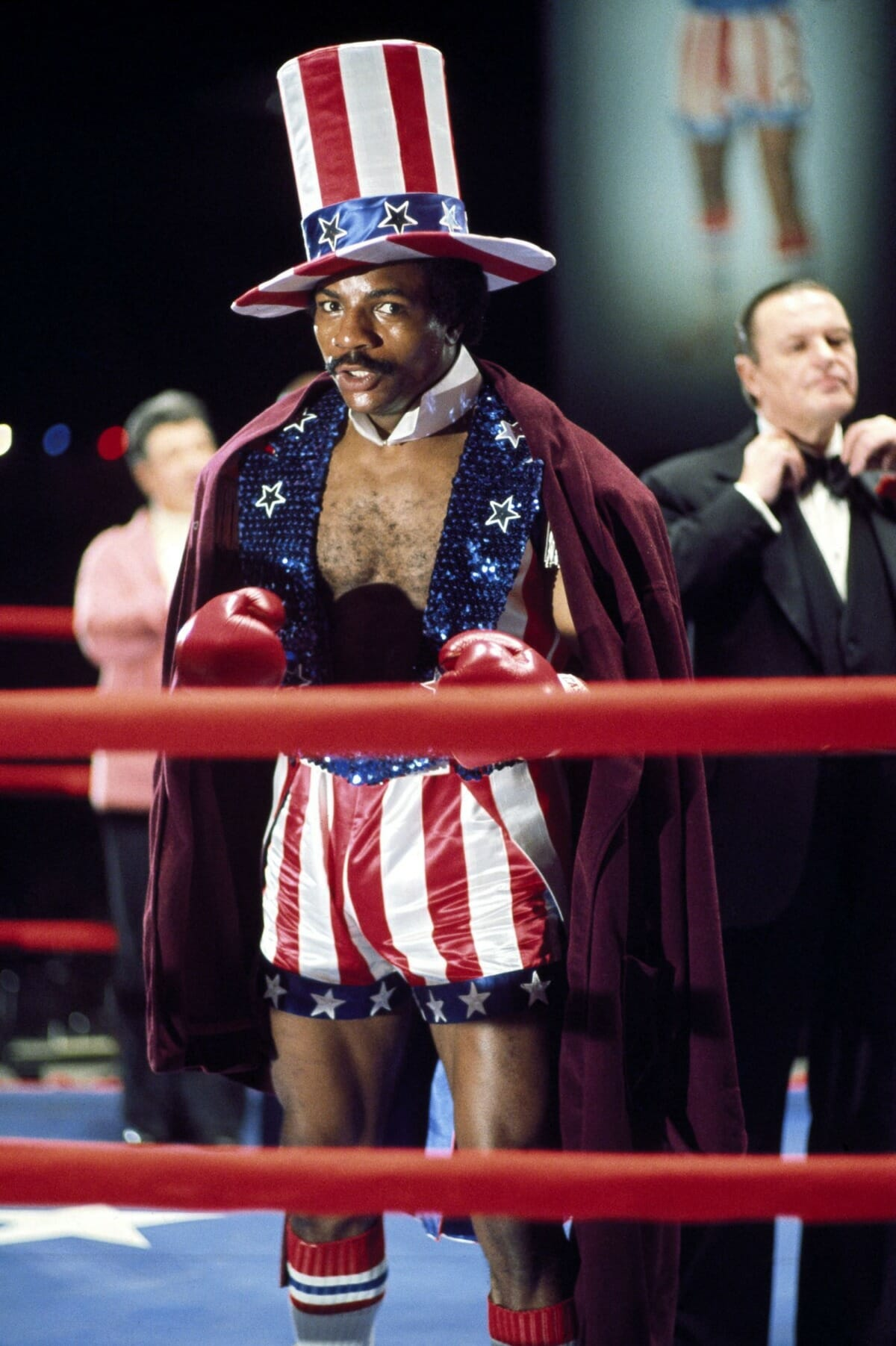 Carl Weather as Apollo Creed in Rocky