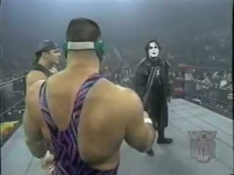 Rick Steiner addresses Sting on WCW Monday Nitro, December 2, 1996.
