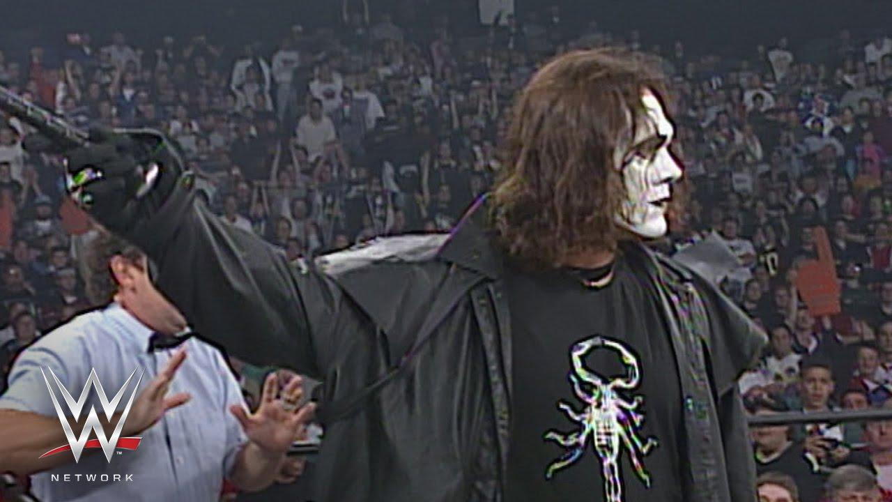 Sting on WCW Monday Nitro, September 29, 1997.