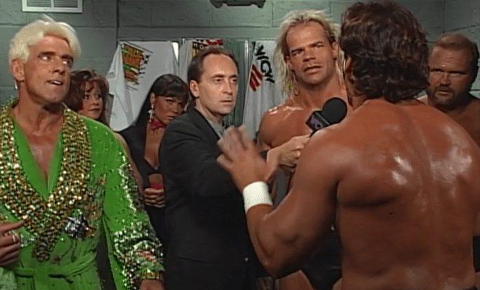 "Sting: ""It was not me on Monday Night!"" WCW Fall Brawl 1996."