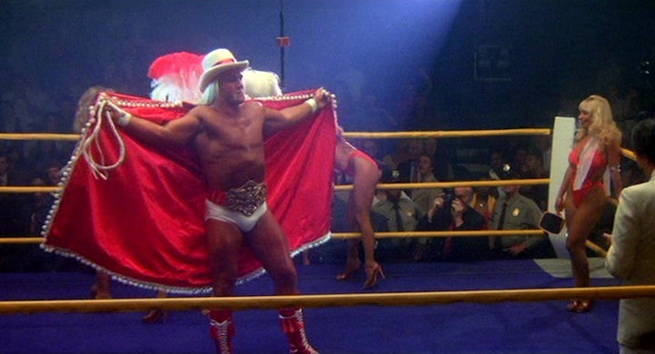 'Thunderlips is here, in the flesh, baby!' - Hulk Hogan in the movie Rocky III.