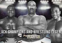 "Black Champions and Wrestling Legends - Bobo Brazil, Bearcat Wright, and ""Sailor"" Art Thomas"