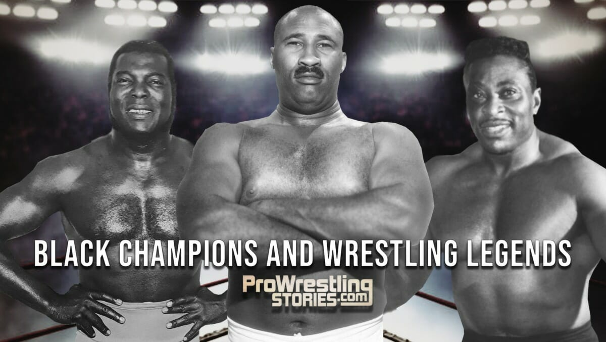 Black Champions and Wrestling Legends - Bobo Brazil, Bearcat Wright, and 'Sailor' Art Thomas