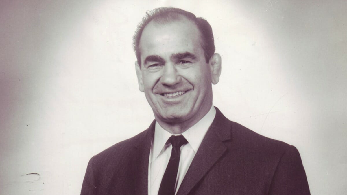 Lou Thesz, a shrewd businessman in and out of the ring.