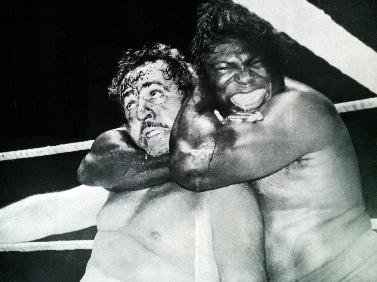 The rivalry between 'The Sheik' Ed Farhat and Bobo Brazil spilled many buckets of blood and thrilled fans for decades.