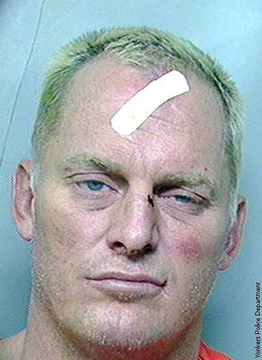 A face that didn't work face: James Fullington's Yonkers mugshot