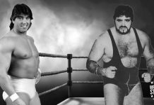 Rick Martel and his brother, Michel Martel. [design: JP Zarka / ProWrestlingStories.com]