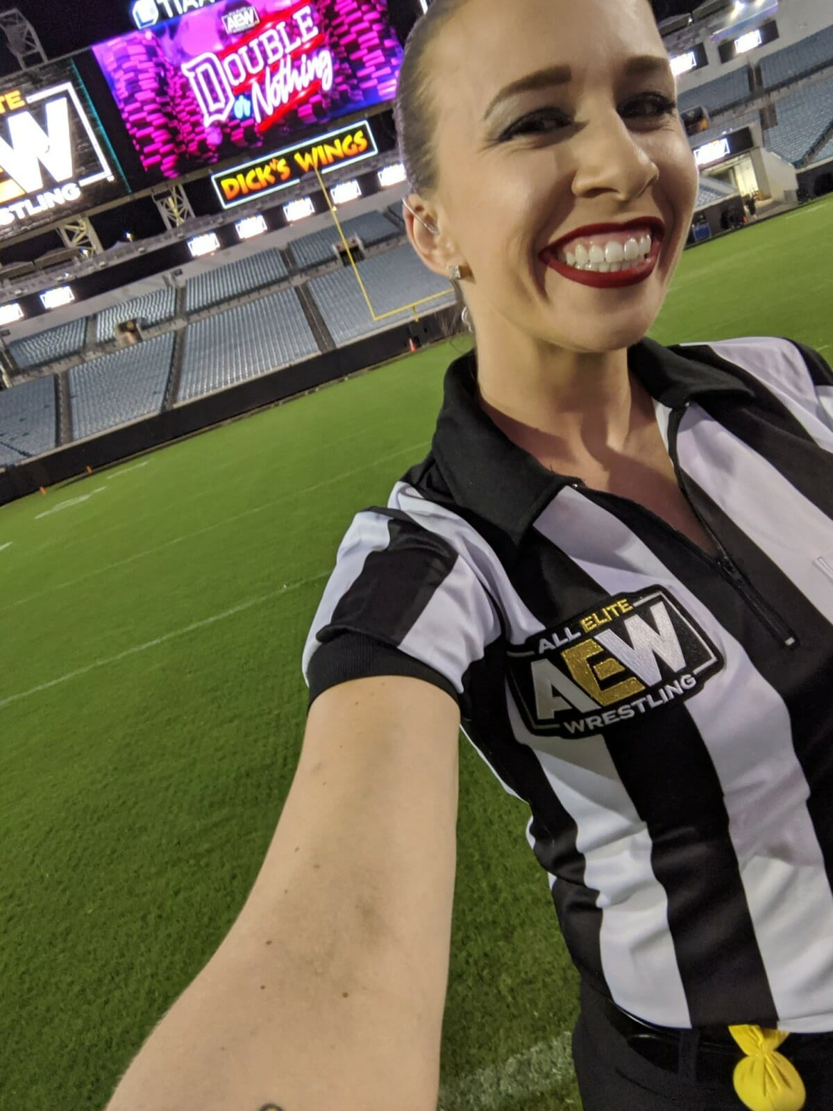 Aubrey Edwards is doing a phenomenal job as the head referee for AEW.