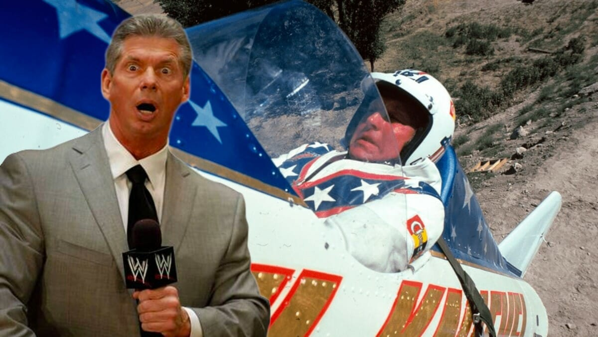 Vince McMahon and Evel Knievel: Pride goeth before the fall!
