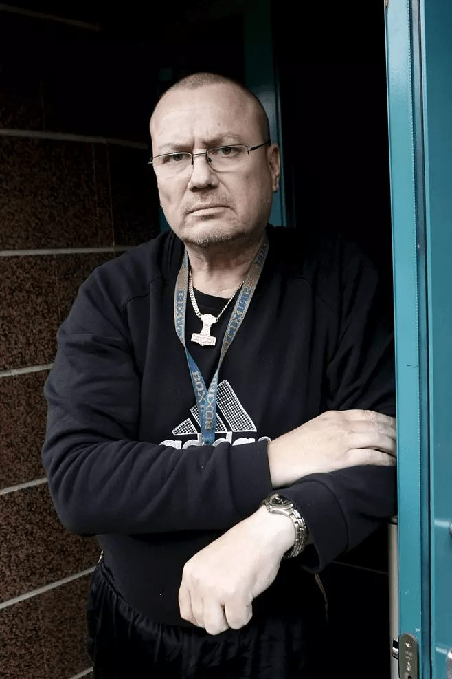 Tony Halme near the end, in 2009. [Photo: is.fi]