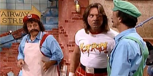 Mario and Luigi meet the late-great Roddy Piper on The Super Mario Bros. Super Show!