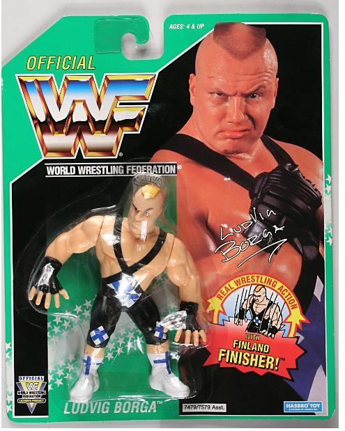 Ludvig Borga WWF figurine