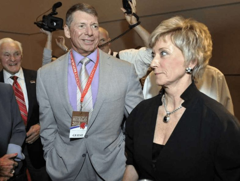 Vince and Linda McMahon in 2010. Their bankruptcy was a murky chapter in their rags-to-riches tale.