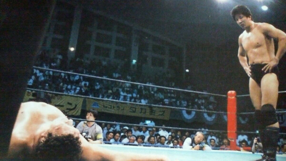 Andre the Giant and Akira Maeda - How Their Fight Turned REAL in Japan