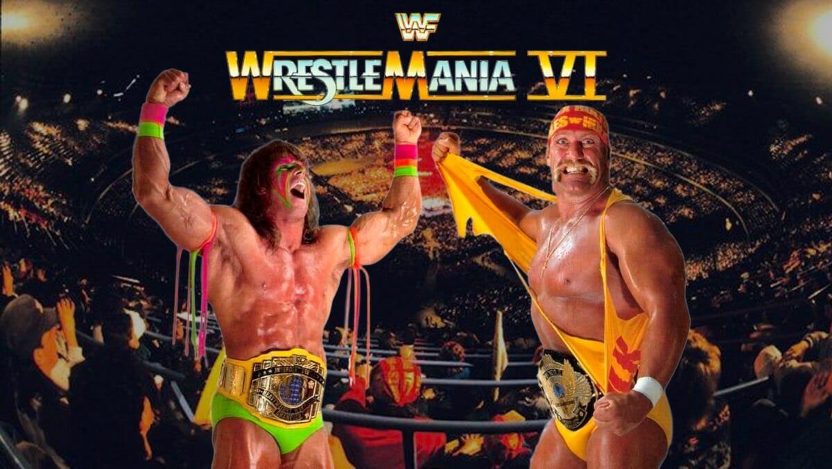 Hulk Hogan and Ultimate Warrior - WrestleMania 6