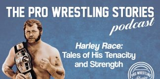 """Harley Race was considered by many to be one of the legitimately toughest men to ever grace the squared circle. This is a man who beat polio as a child, survived cancer, plus a near-fatal car crash. As Bobby 'The Brain' Heenan once said, """"The only two men in the world that Andre the Giant feared were Meng and Harley Race."""" He packed a hard punch and even his voice was enough to make the hardest of men tremble in fear. Not only was he tough, but he also had a heart of gold and looked out for his own. They don't make them like him these days. These stories show why!"""
