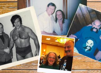 Wayne St. Wayne had the opportunity to meet many great legends during his life. Bruno Sammartino, Killer Kowalski, Jake Roberts, and Ox Baker were but a few.