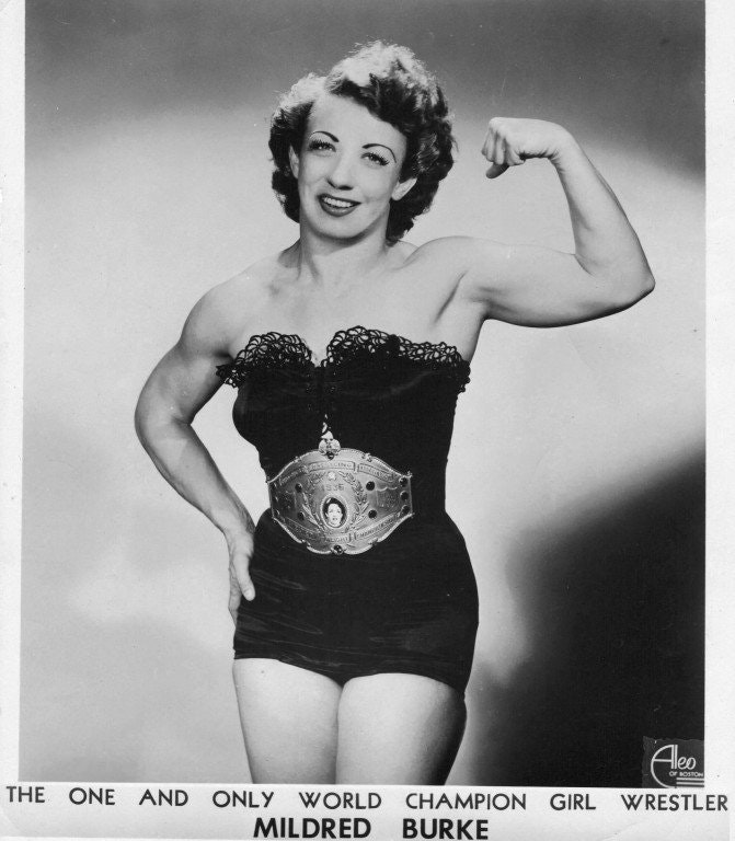 Mildred Burke — Strong Is Female