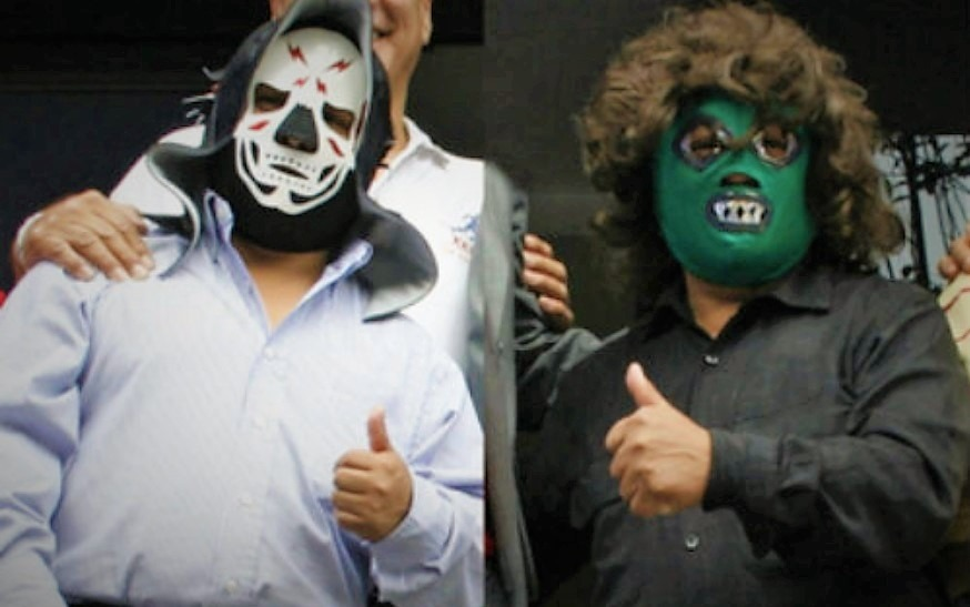 Lucha Libre | 5 Chilling Cases of Murder and the Paranormal -- La Parkita and Espectrito Jr. were very popular with the fans until the party suddenly ended. [Source: reporteindigo.com]