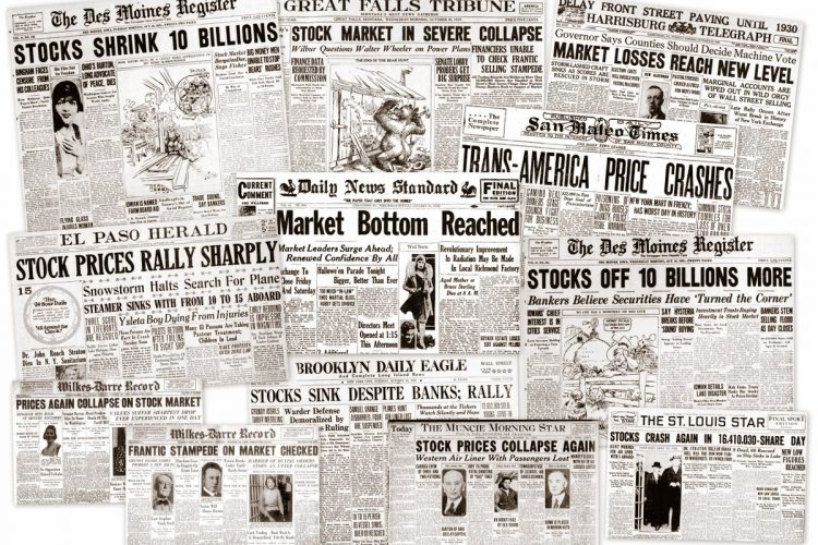 The stock market crash of 1929 affected millions, including an already impoverished Millie Bliss and her family that was struggling just to survive.