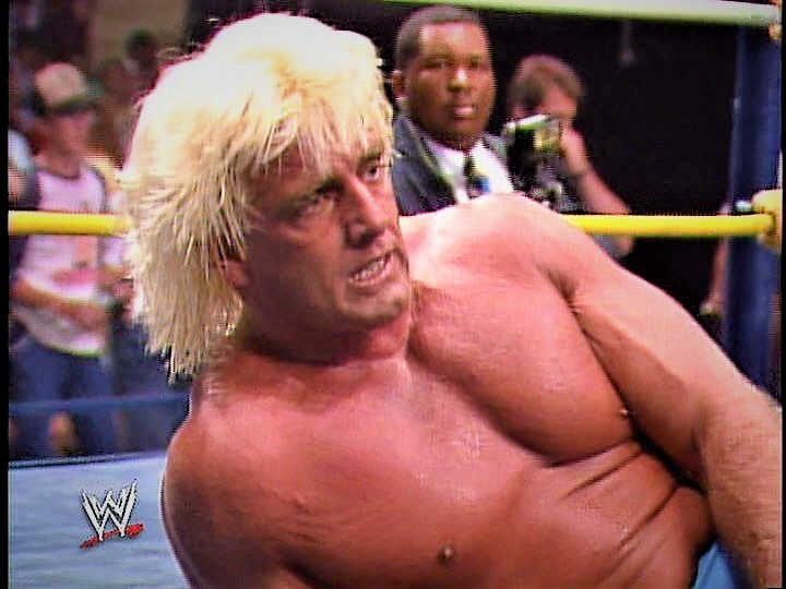 No rest for the weary, it seems! After defeating Ricky Steamboat at Wrestle War '89, Ric Flair entered into a brutal feud with Terry Funk.