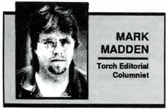 Column photograph for Mark Madden from The Torch