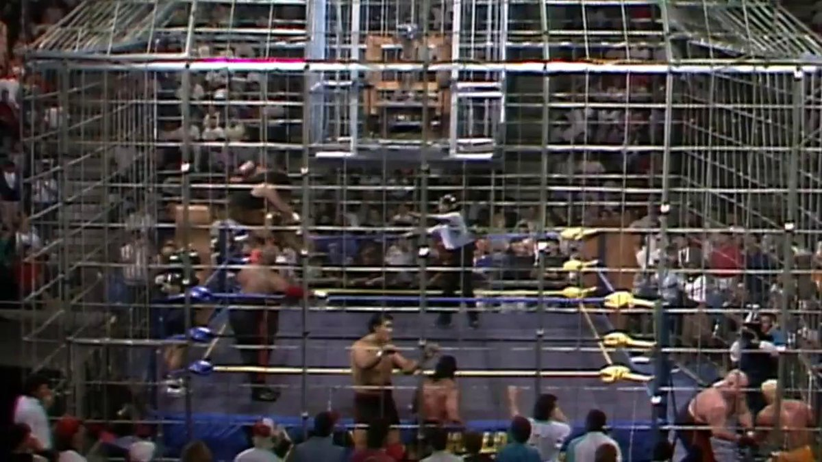 Behold... The Chamber of Horrors! WCW Halloween Havoc '91.
