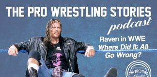 """""""Michael Hayes was in a booking meeting when Vince McMahon said, 'Who the f*** hired Johnny Polo?' My heart was broken when I realized I wasn't going to be used right."""" Scott Levy performed under various aliases over his long wrestling career though by far, his most successful run in wrestling came under the guise of Raven. After finding success in ECW and WCW, Raven re-signed with the then-WWF, and the fans were excited. This should have marked Raven's greatest run of all, but Vince McMahon had different plans."""