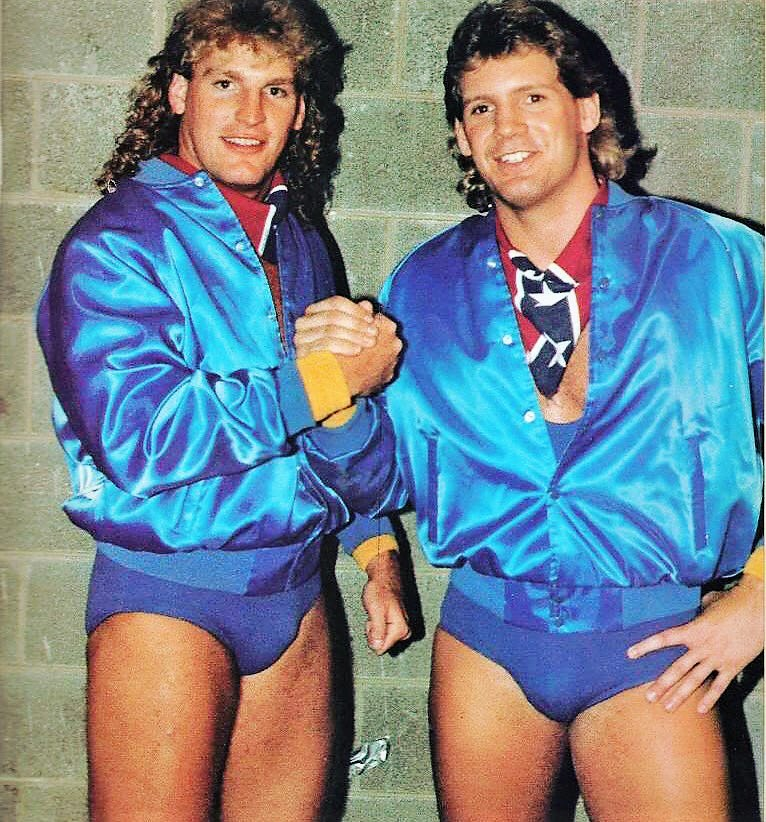 Steve Armstrong and Tracy Smothers as the Southern Boys and later Young Pistols.