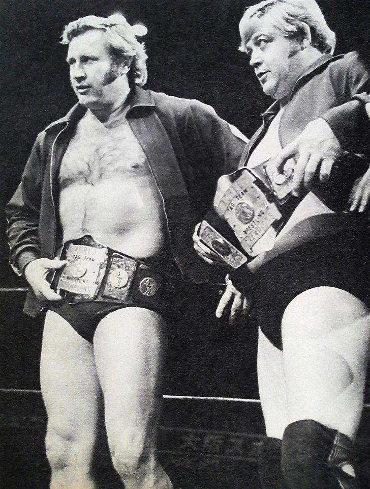 AWA Tag Team Champions, Nick Bockwinkel and Ray Stevens