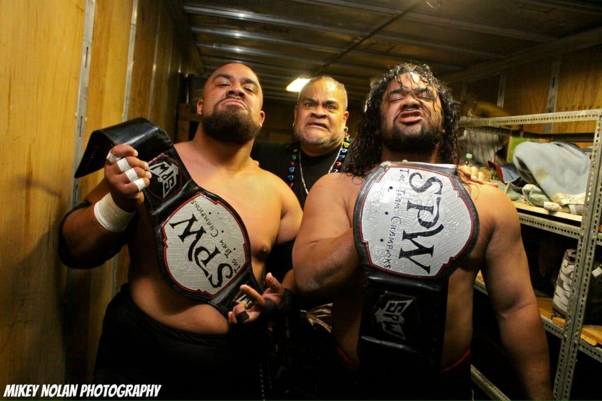 Sons of Sam Fatu, Jacob and Journey Fatu, are taking the Samoan Dynasty into the future.