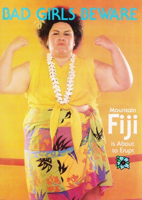 Emily Dole, known as Mountain Fiji in GLOW.