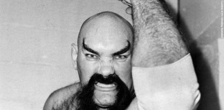 Ox Baker and his feared look and heart punch came years after struggling to put food on his table.