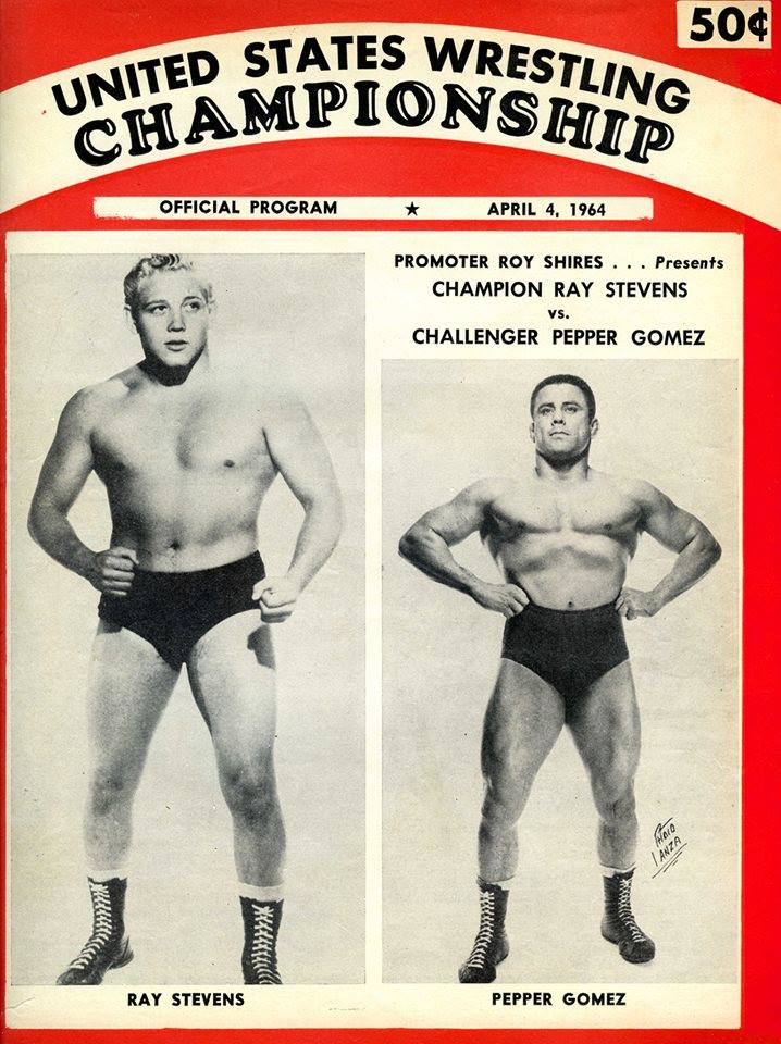 When Ray Stevens and Pepper Gomez stood across from one another in the ring in the '60s, it was pure magic.