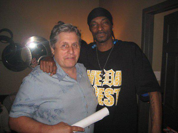 Smith Hart with Snoop Dogg