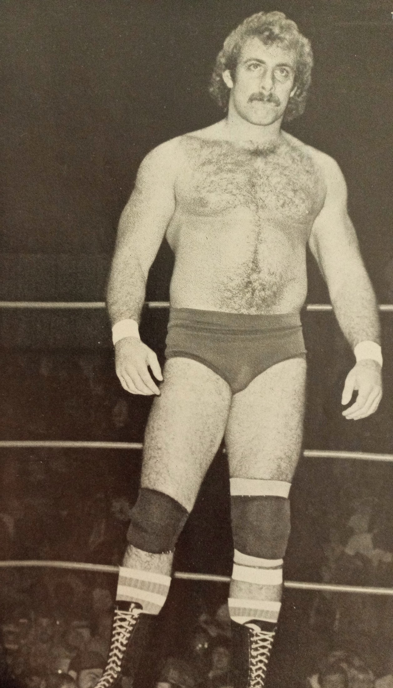 Young Terry Allen back in 1983. Allen would soon become better known as Magnum TA.