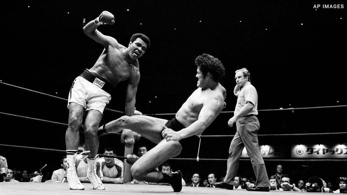 Despite the incredible curiosity surrounding the fight between Muhammad Ali and Antonio Inoki, which took place from the Budokan Hall, viewers were mostly left confounded.