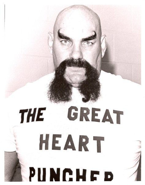 With his menacing look, Ox Baker became an attraction people paid to see.