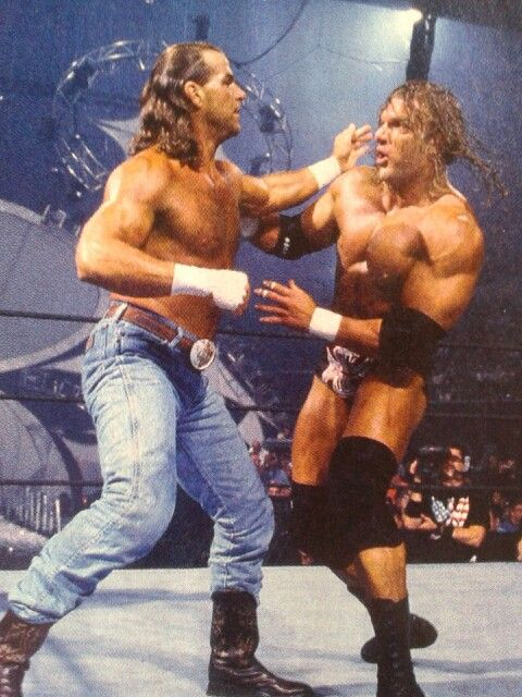 In the WWE in-ring return of Shawn Michaels at SummerSlam 2002 against Triple H, HBK didn't miss a beat.