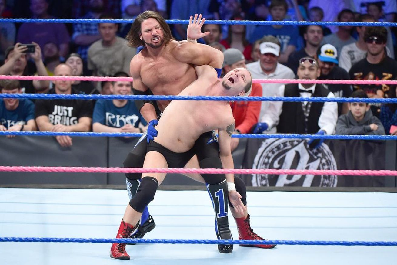 James Ellsworth got a WWE Championship opportunity in 2016 after defeating then-champion AJ Styles with the help of Dean Ambrose on Raw.