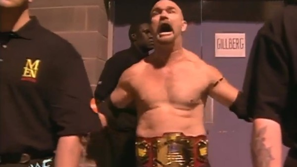 WWF Light Heavyweight Champion, Gillberg.