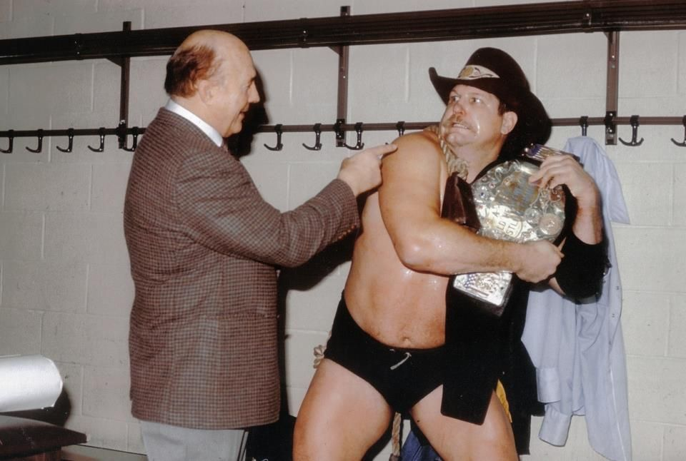 Stan Hansen refused to drop the AWA Championship belt to Nick Bockwinkel, something he was ordered to do by Verne Gagne and the AWA.