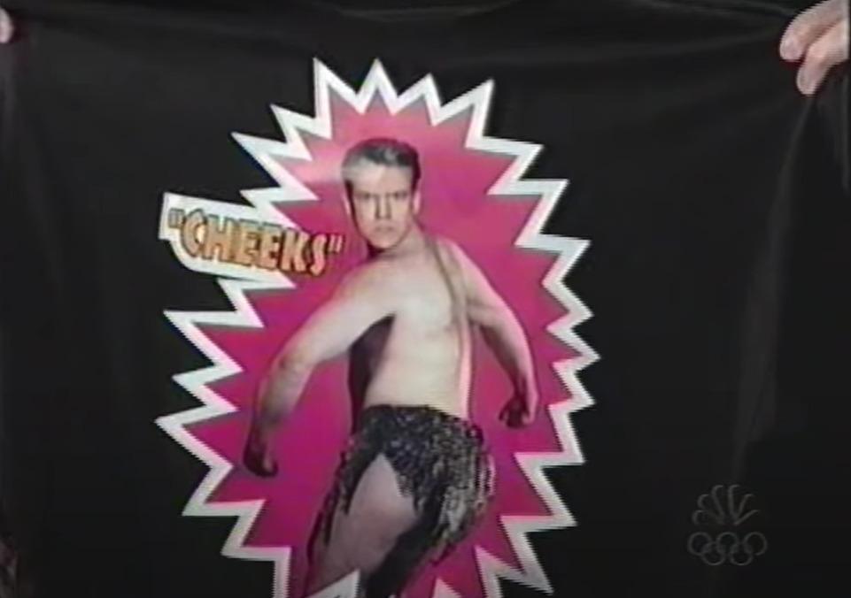 "Vince McMahon presents a new gimmick for Conan O'Brien - ""Cheeks!"""