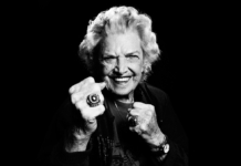The fierce yet wonderful Mae Young.
