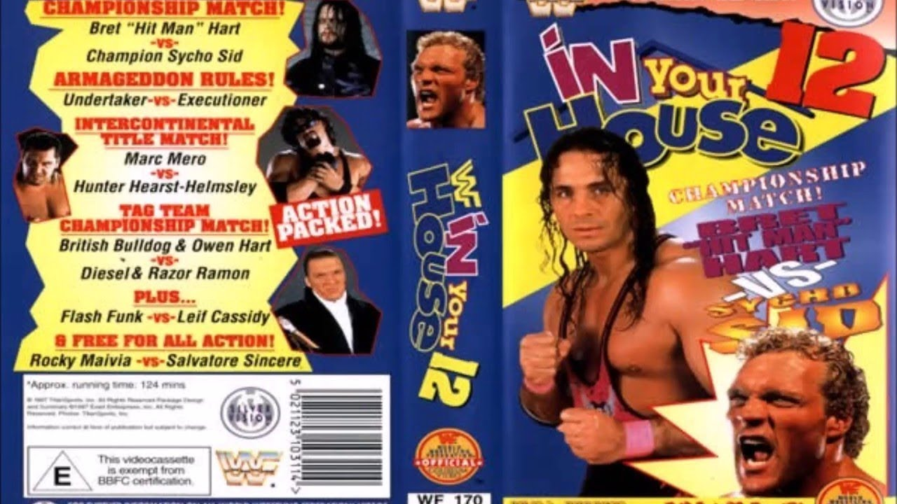 WWE In Your House 12: It's Time pay-per-view poster.