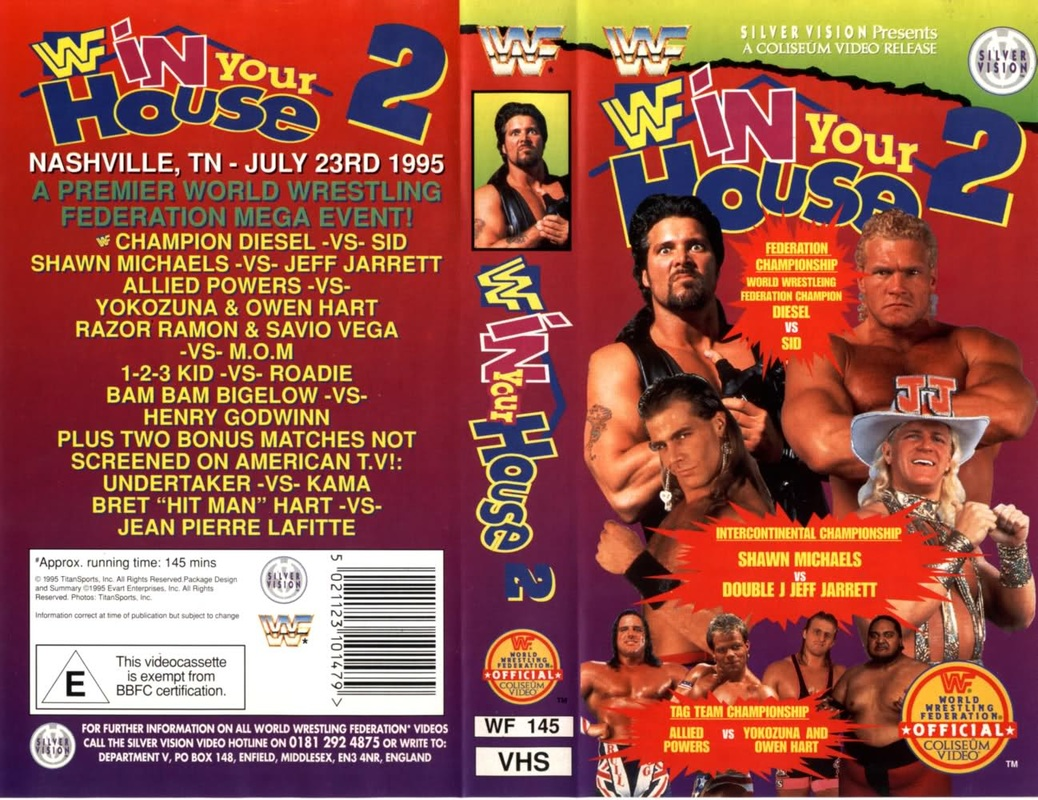 WWE In Your House 2 pay-per-view poster.