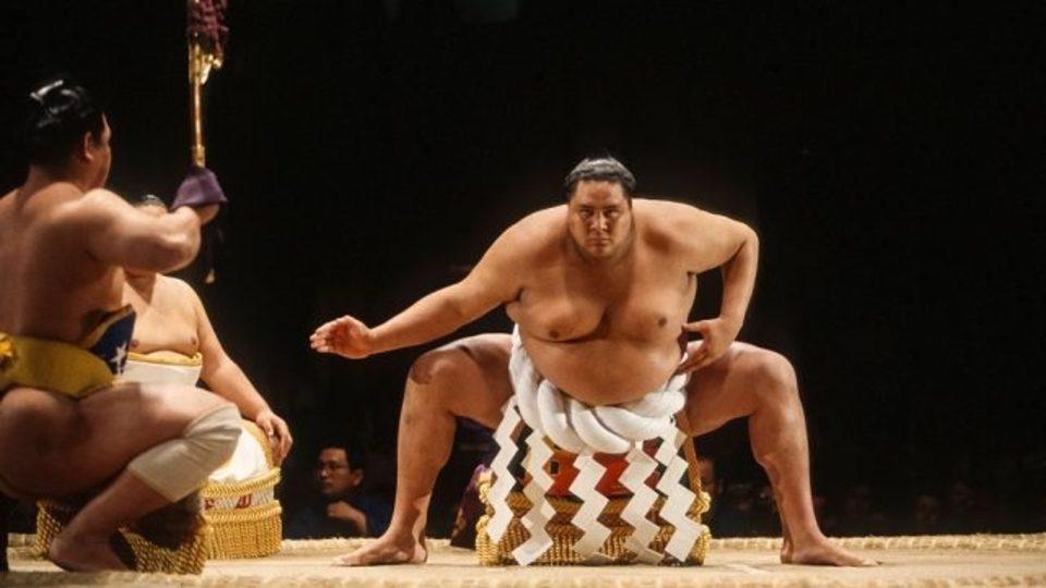 Akebono was the first non-Japanese sumo wrestler ever to reach ''Yokozuna.''