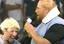 Sean Waltman (as Ric Flair) and Kevin Nash (as Arn Anderson) spoof the Four Horsemen on September 1st, 1997's Monday Nitro.