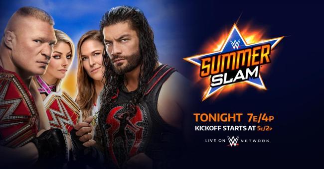 WWE SummerSlam 2018 Results